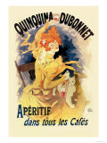 Quinquina Dubonnet Apertif Posters by Jules Chéret