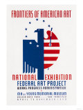 Frontiers of American Art: National Exhibition Posters