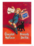 Chocolates from Monaco and Delta Biscuits Art by  Dorfi
