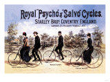 Royal Psycho and Salvo Cycles Art