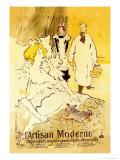 L'Artisan Moderne Prints by Henri de Toulouse-Lautrec