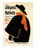 Les Chansonniers De Montmartre Psters por Henri de Toulouse-Lautrec