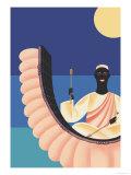 African Rhythm Posters by Frank Mcintosh