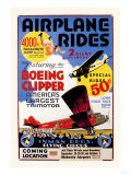 Airplane Rides: Inman Bros. Flying Circus Posters