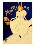 May Milton on Stage Prints by Henri de Toulouse-Lautrec
