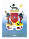 Isle of Man Posters by Daphne Padden