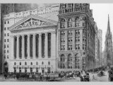 New York Stock Exchange, 1911 Print by Moses King