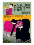 German Artist Exhibition Prints