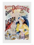 Grande Patisserie Lisboa Poster by Charles Gesmar
