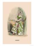 Jasmin Prints by J.J. Grandville