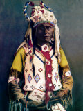 Sioux Chief Old Hand Photo by Carl And Grace Moon