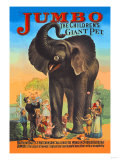 Jumbo, The Children's Giant Pet Premium Giclee Print