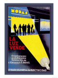 La Luz Vende Posters by J. Cuellar