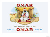 Quality Omar Cigars Posters