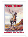 The Whip: The Wonderful Drury Lane Drama Prints by Albert Morrow