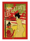 L'Eclatante, The Brilliant Lamp Prints by Manuel Robbe