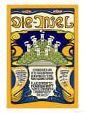 Die-Insel Posters by Emil Rudolf Weiss