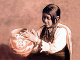 Isleta Pottery Maker Photo by Carl And Grace Moon