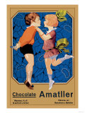 Chocolate Amatller: Barcelona Poster