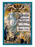 German General Exhibition Art by Emil Doepler
