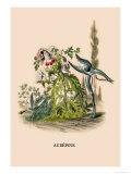 Aubepine Print by J.J. Grandville