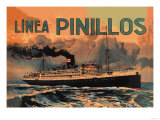 Pinillos Cruise Line Poster