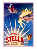 Petrole Stella Print by Henri Gray