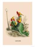 Capucine Prints by J.J. Grandville