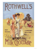Rothwell's Milk Chocolate Prints