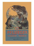 Pflueger Fishing Tackle Prints