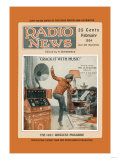 Radio News: Crack It with Music! Posters
