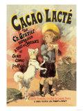 Cacao Lacte de Ch. Gravier Superieur Premium Giclee Print