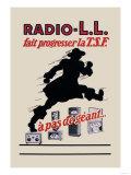 Radio, L.L.: Running Man Posters