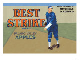 Pajaro Valley Apples: Best Strike Brand Premium Giclee Print