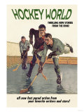 Hockey World Posters