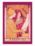 P. Friant Fils Poster by Paul Berthon