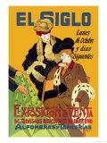 El Siglo: Exposicion y Venta Poster by Milo Winter