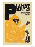 Udstilling I Zoologisk Have Poster by Valdemar Andersen