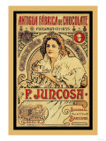 Antigua Fabrica de Chocolate: P. Juncosa Poster