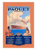Marseille Cruise Package: Black Sea-Morocco-Senegal Posters by Sandy Hook