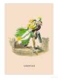 Giroflee Print by J.J. Grandville
