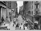 Wall Street, 1911 Photo by Moses King