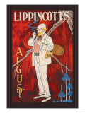 Lippincott's, August 1895 Posters by Will Carqueville