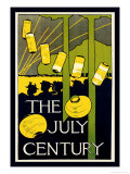 The July Century Print by Charles Herbert Woodbury