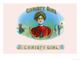 Christy Girl Cigars Prints by Howard Chandler Christy