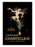 L'Embrocation Chanteclair Posters by  Mich (Michel Liebeaux)
