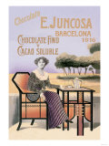 E. Juncosa Chocolate and Cocoa Posters