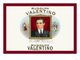 Rudolph Valentino Cigars Print