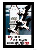 Baltische Ausstellung Prints by E. Norlind