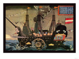 Japanese War Ship Posters